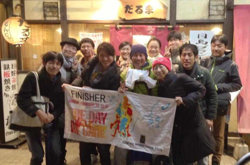 乳がんとの日々(19)東京マラソン当日