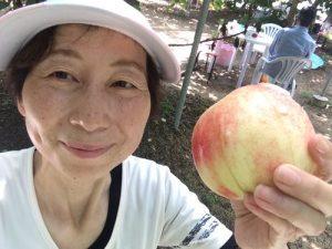 果物王国山梨県で桃狩りツーリング@いつもの深沢農園とほったらかし温泉