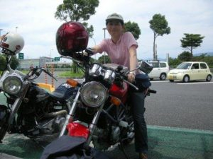 VTR納車の日-中年女子ライダーが2010年7月3日中古のバイクを手に入れた日のこと