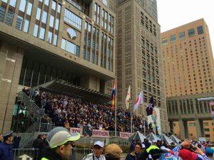 抗がん剤治療と運動 マラソン完走記 (36) 2015年2月22日東京マラソン当日 スタートまで