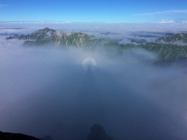 槍ヶ岳登山記録(2)3180メートルからの絶景を楽しんだ!