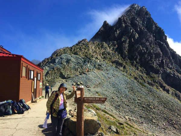 槍ヶ岳登山記録③ 3180メートルからの絶景を楽しんだ!