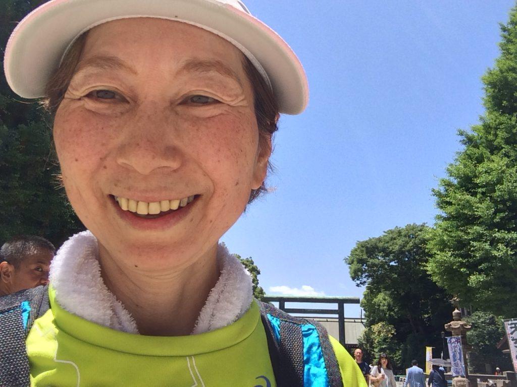アラ還マラソン練習日記・サブ4.5を狙う④ 街ランを楽しむ日曜日!