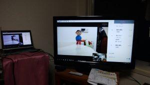 テレビでSkype 新システム構築! 老親はテレビの「入力切替」だけでOK Google chrome リモートデスクトップも使ってメモを共有!