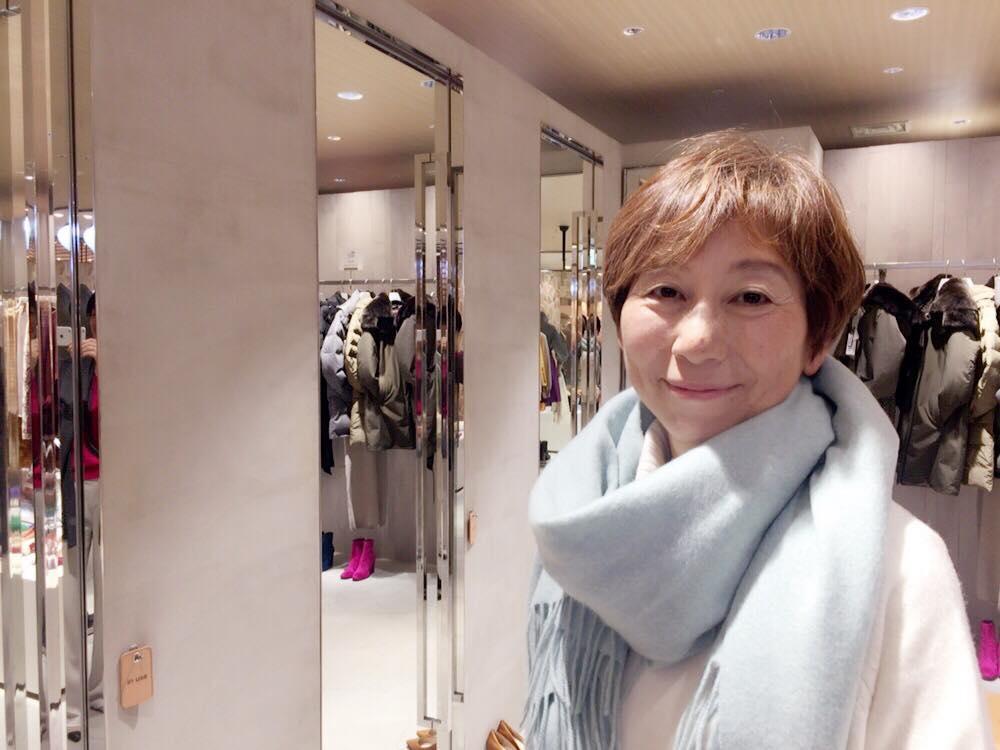 キレイになりたい!イメージコンサルタントの渡辺千晶さんと銀座ショッピング同行とヘアスタイリング